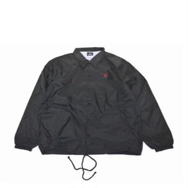 WHERE IS THE LOVE NYLON COACHES JACKET (BLACK)