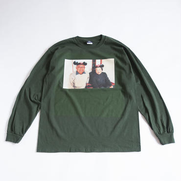 EVER OURS L/S TEE  (DEEP GREEN)