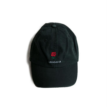 R.I.P. COTTON TWILL CAP (BLACK)