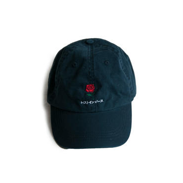 R.I.P. COTTON TWILL CAP (NAVY)
