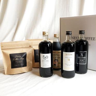 【定期便】お好きなリキッド4本+ コーヒーバッグ4袋のセット