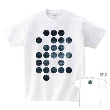 Tシャツ:デニム 点