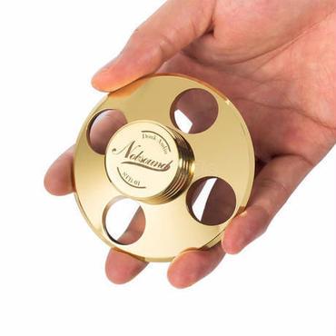 ハイファイ・レコードLPディスクスタビライザーターンテーブルビニールクランプアンチスキッド純銅ゴールド