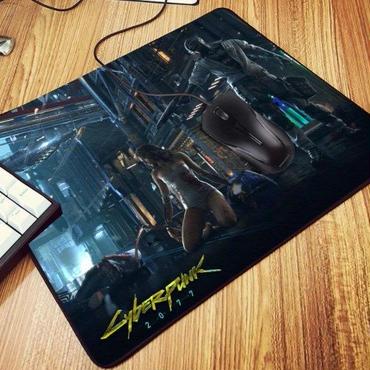 サイバーパンク 2077  ゲーミングマウスパッド  Cyberpunk 2077   290×250×2mm   3