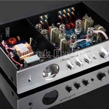 ミュージックホールの最新ハイエンドXiangSheng 728A真空12AT7 12AU7真空管プリアンプステレオハイファイプリアンプオーディオプロセッサ