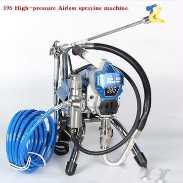 塗料 噴霧器 エアスプレー機 エアスプレー 4.2l  高圧 ガン プロ 工業 高圧銃 エアレス塗装機 Aセット