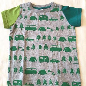 Wonder apartment キャンプTシャツ