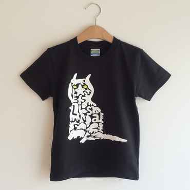 ELSA nico-T shirts for KIDS 黒