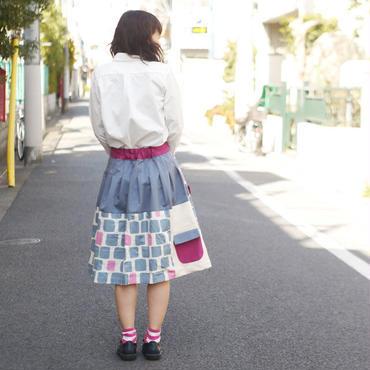 お手伝いスカート~駄菓子レンガ~
