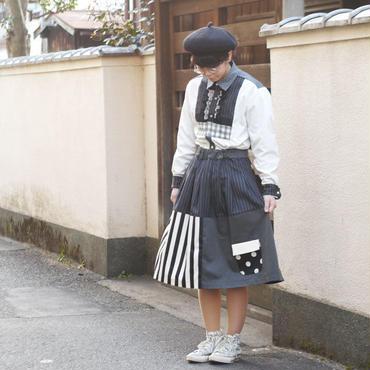 お手伝いスカート~キャリアグレー~