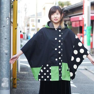 スポンジぽんちょ ~モノトーン×緑~
