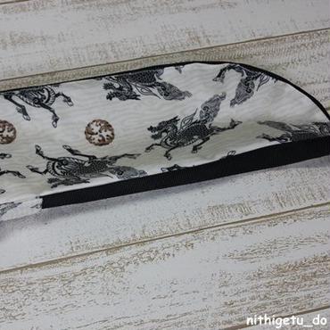 ラミネート竹刀袋 麒麟×ベージュホワイト
