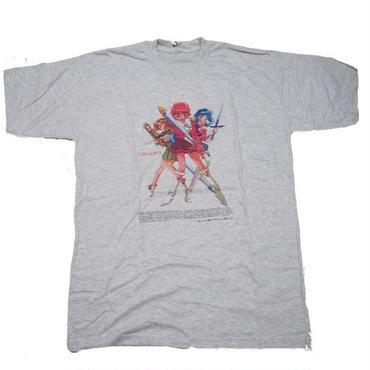 1995's MANGA  T-shirts (レイアース 灰色)実寸(L)
