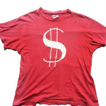 "【BORO】1980's Hanes 100% cotton t-shirt  ""$"""