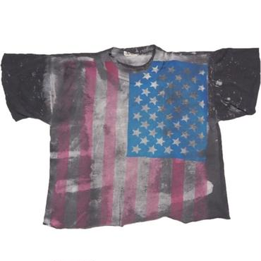 1980's モスキートヘッド 星条旗 T-shirts 実寸(L)