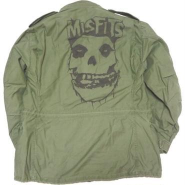 1980's M-65 jacket  (ハンドペイントmisfits)   実寸(L )