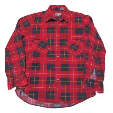 1980's ハイランダーフランネルシャツ【ナイスカラー パンクチェック】表記(M)