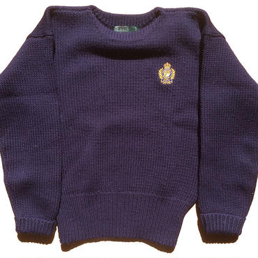 Ralph Lauren HEAVY WOOL クルーセーター
