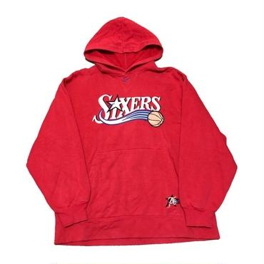 1990's  NIKE NBAパーカー(SIXERS) 実寸L