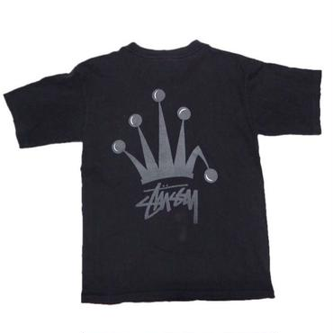 1980's STUSSY クラウン T-shirts表記(M)