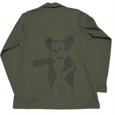 1987's   US ARMY   『 レイモンドペティボン 』 ハンドペイント DEAD  実寸(S-M)