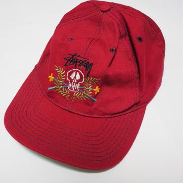 1980's STUSSY cap (スカルフラワー)