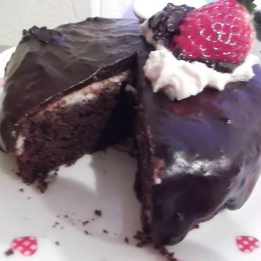 アニバーサリーケーキ15cm米粉ケーキ