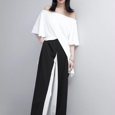 Line pants☆