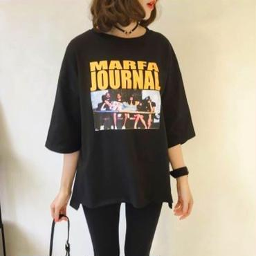 Marfa journal Tee☆