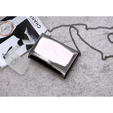 Silver mini bag☆