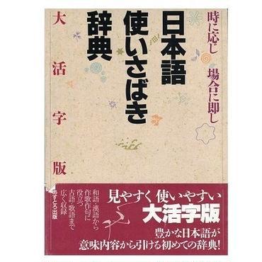 日本語使いさばき辞典(大活字版)