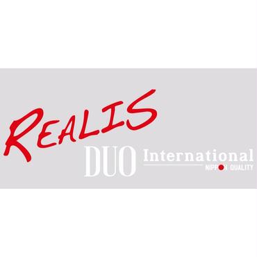REALIS DUOinternational カッティングステッカー大