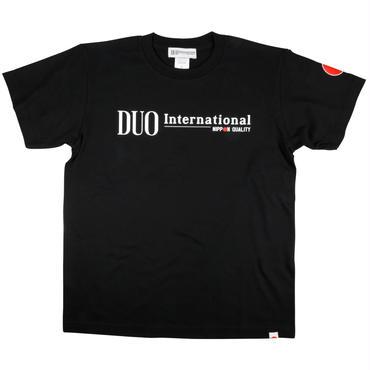 DUO international ロゴTシャツ ブラック