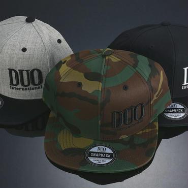DUO Snapbackキャップ(フラットキャップ)