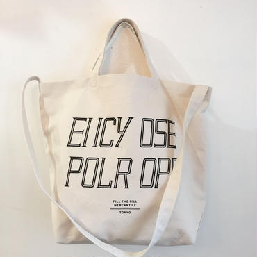 FUCK OFF TOTE BAG【M size】