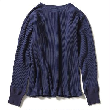 THROUGH NEEDLE CREW NECK 【WOMENS】