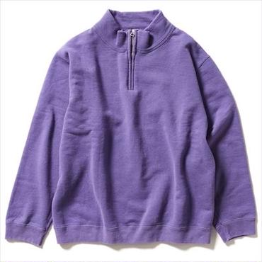 【FILL THE BILL  for  steven alan 】HALF  ZIP SWEAT
