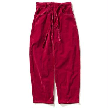 VELVET BALL PANTS 【WOMEN'S】