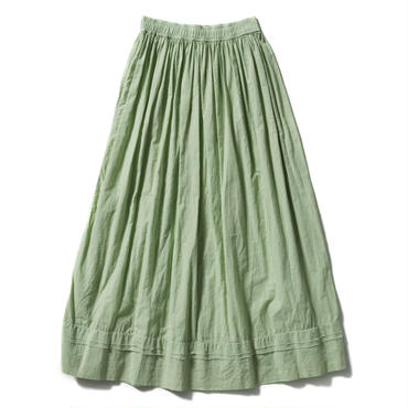GATHER LONG SKIRT【WOMENS】