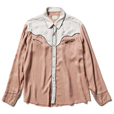 TENCEL WESTERN  SHIRTS 【WOMENS】