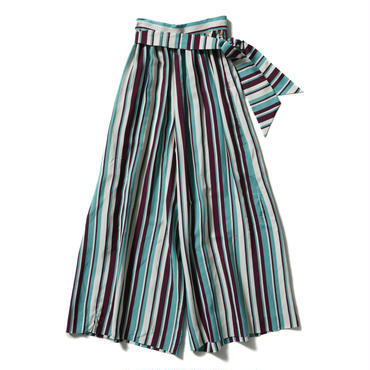 TROPICAL BEACH PAJAMAS WIDE PANTS【WOMENS】