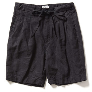 HIGH COUNT LINEN TWO TACK SHORTS