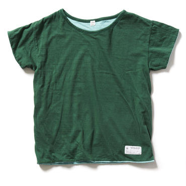 WASTE COTTON REVERSIBLE T