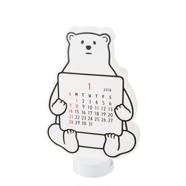 2018 DIECUT CALENDAR (bear)