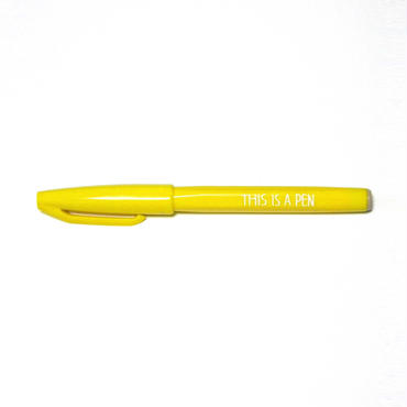 THIS IS A PEN(黄)