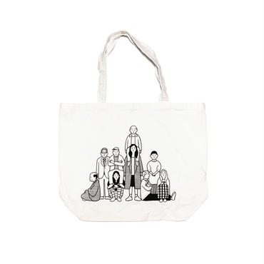 EVERYDAY PEOPLE  (totebag)