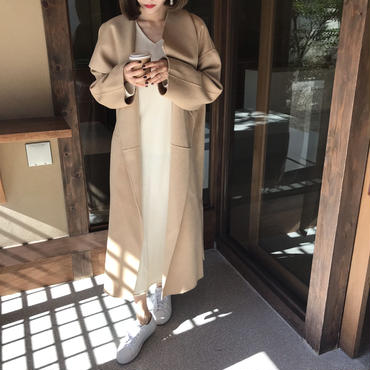 WoolカシミアknitOP【即納】