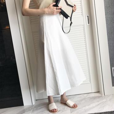 cotton フレアシルエットSK【6月中旬より順次発送】