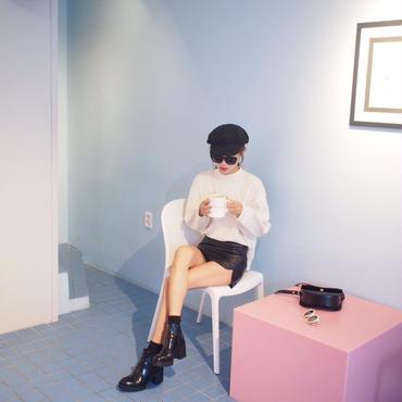レザーミニスカート