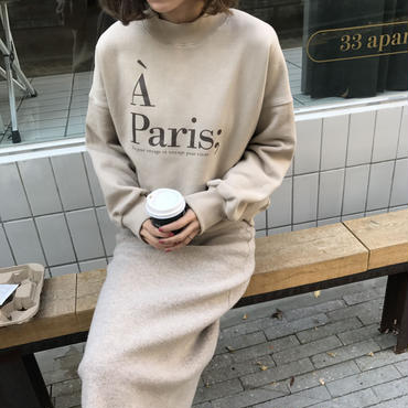 A Paris スウェット